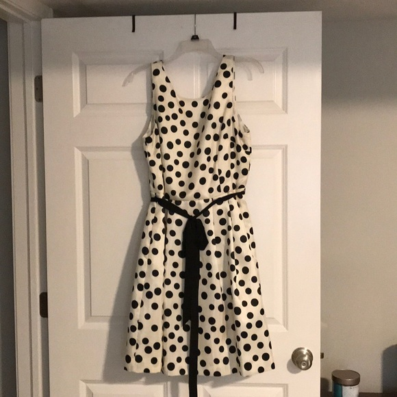 Jessica McClintock Dresses & Skirts - Polka dot dress